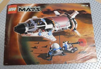 LEGO INSTRUCTIONS MANUAL BOOK ONLY 7315 Solar Explorer x1PC