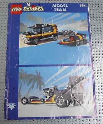 LEGO INSTRUCTIONS MANUAL BOOK ONLY 5581 Magic Flash  x1PC