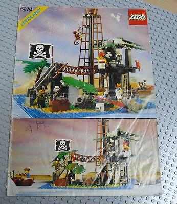 LEGO INSTRUCTIONS MANUAL BOOK ONLY 6270 Forbidden Island x1PC