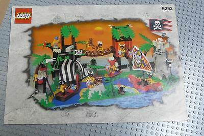 LEGO INSTRUCTIONS MANUAL BOOK ONLY 6292 Enchanted Island x1PC