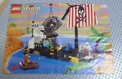 LEGO INSTRUCTIONS MANUAL BOOK ONLY 6296 Shipwreck Island x1PC
