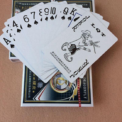 Plastic Coated Playing Cards Back Pattern Poker, Deck of 54 Cards Play Game