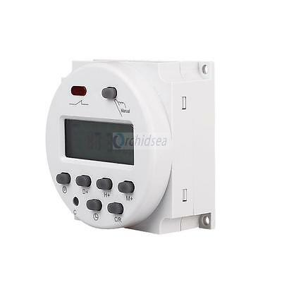 LCD Digital Power Programmable Timer Time Switch Relay  DC12V 16A