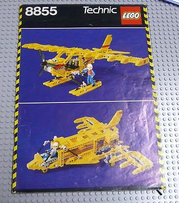 LEGO INSTRUCTIONS MANUAL BOOK ONLY 8855 Prop Plane x1PC