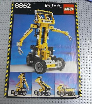 LEGO INSTRUCTIONS MANUAL BOOK ONLY 8852 Robot x1PC