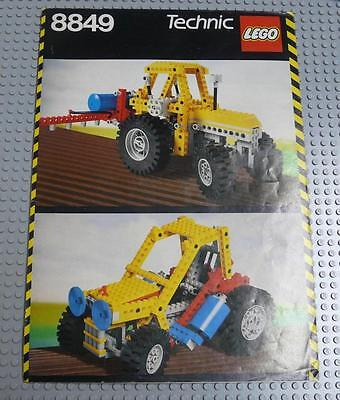 LEGO INSTRUCTIONS MANUAL BOOK ONLY 8849 Tractor x1PC