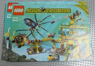 LEGO INSTRUCTIONS MANUAL BOOK ONLY 7775 Aquabase Invasion x1PC