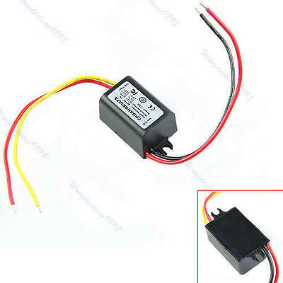 DC/DC Converter 12V Step down to 3V 3A 15W Power Supply Module Waterproof