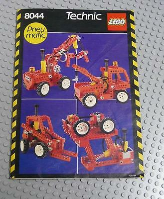 LEGO INSTRUCTIONS MANUAL BOOK ONLY 8044 Universal Pneumatic Set x1PC