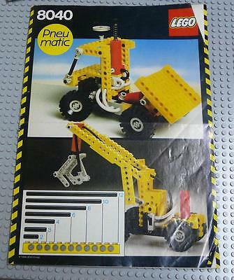 LEGO INSTRUCTIONS MANUAL BOOK ONLY 8040 Building Set x1PC