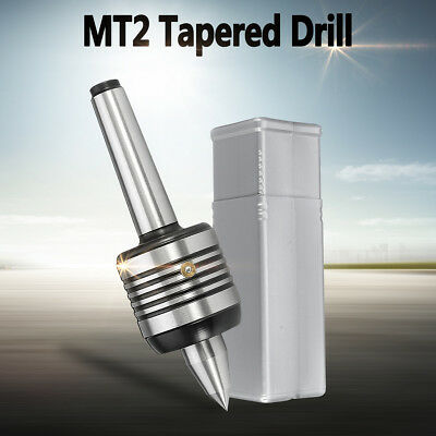 MT2 CNC Live Milling Center Precision Morse Taper Lathe Turning Design Revolvin