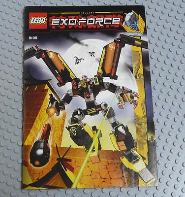 LEGO INSTRUCTIONS MANUAL BOOK ONLY 8105 Iron Condor x1PC