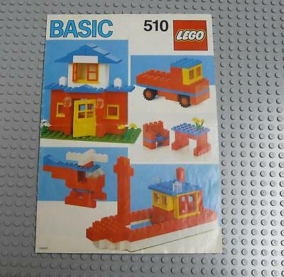 LEGO INSTRUCTIONS MANUAL BOOK ONLY 510 Basic  x1PC