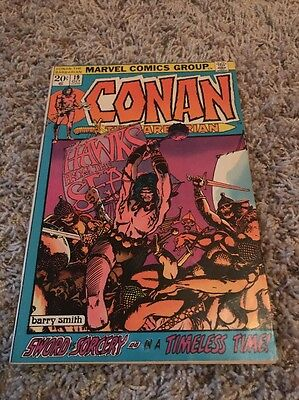 Conan The Barbarian # 19 - Barry Windsor-Smith cover & art VG/Fine Cond.