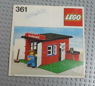 LEGO INSTRUCTIONS MANUAL BOOK ONLY 361 Garage  x1PC