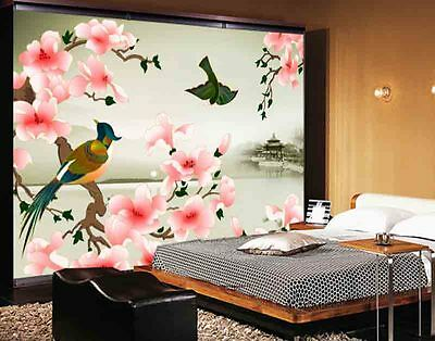 Friendly Wild Goose 3D Full Wall Mural Photo Wallpaper Printing Home Kids Decor