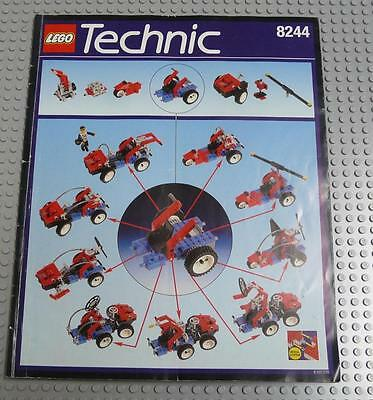 LEGO INSTRUCTIONS MANUAL BOOK ONLY 8244 Convertibles x1PC