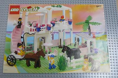LEGO INSTRUCTIONS MANUAL BOOK ONLY 6418 Country Club x1PC