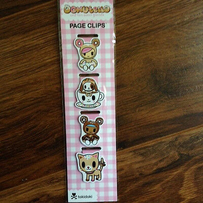 Re-marks Magnetic Page Clip, Donutella (tokidoki) - 4 count - 681410191108
