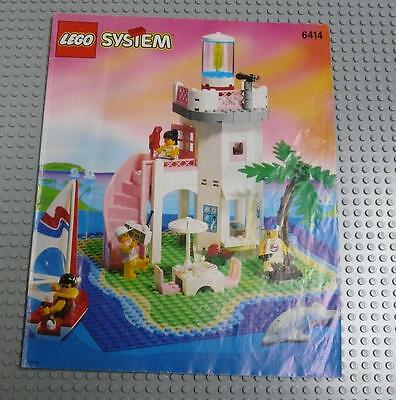 LEGO INSTRUCTIONS MANUAL BOOK ONLY 6414 Dolphin Point x1PC