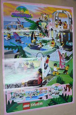 LEGO INSTRUCTIONS MANUAL BOOK ONLY Paradisa Poster 1992 x1PC