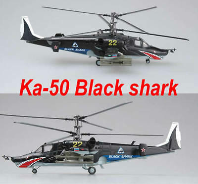 Easy Model 1/72 Russian Air Force Ka-50 Black shark No.22 Helicopter Model#27023