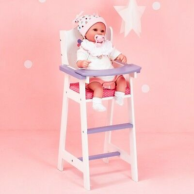 Olivia's Little World Baby Doll Furniture Baby High Chair by Teamson Kids
