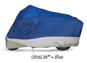 Dowco Guardian Ultralite Motorcycle Cover Medium Blue