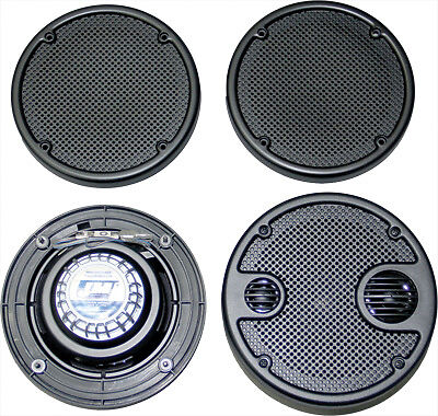 J&M Headsets Rokker Series XT 5.25in. Rear Speaker Upgrade Kit