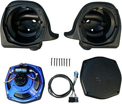 "J&M Headsets Rokker XX Fairing Speaker Kits 7.25"" Fairing Lower Speaker Kit"