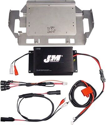 J&M Headsets Performance Series 180W Two-Channel Amplifier Kit