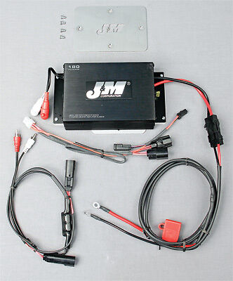 J&M Headsets 180 Watt 2-Channel Amp Kit