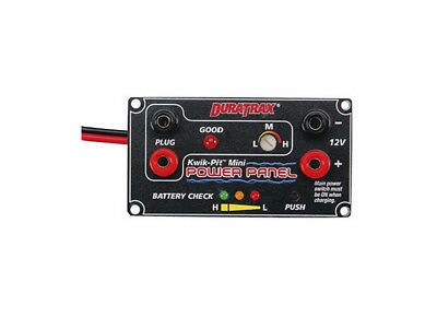 DuraTrax Kwik-Pit Mini Power Panel 12V DC DTXP5770