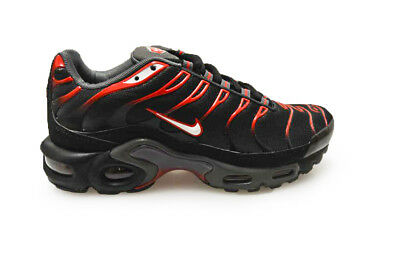 MENS NIKE AIR Max Plus 852630002 Black Red trainers