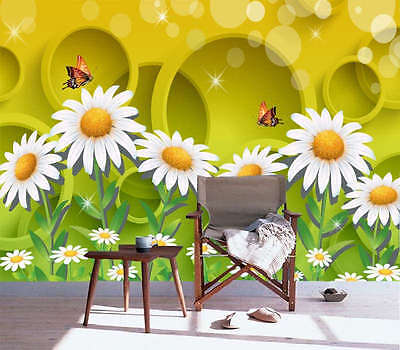 Delicate Sunflower 3D Full Wall Mural Photo Wallpaper Printing Home Kids Decor