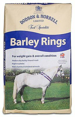 Dodson & Horrell Barley Rings, High Calorie for Weight Gain 15kg