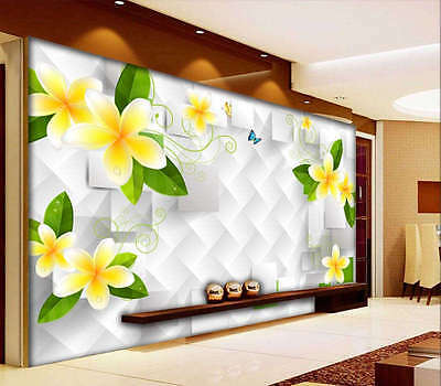 External Mangnolia 3D Full Wall Mural Photo Wallpaper Printing Home Kids Decor