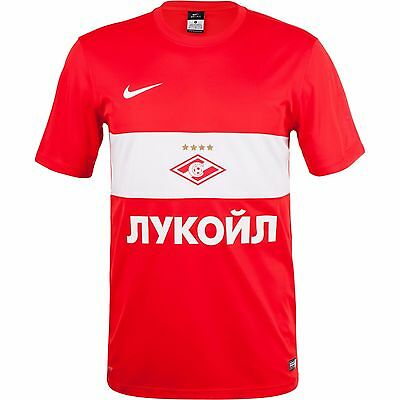 Nike Men's Spartak Moscow 2015/16 Home Football Supporter Shirt New 686436-602 L