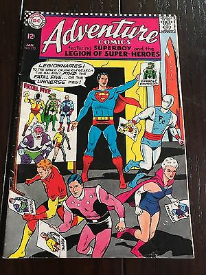 Adventure Comics 352. The Fatal 5, Superboy, The Persuader, 1967