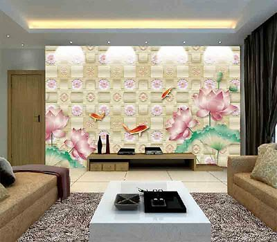Fine Mild Flowers 3D Full Wall Mural Photo Wallpaper Printing Home Kids Decor