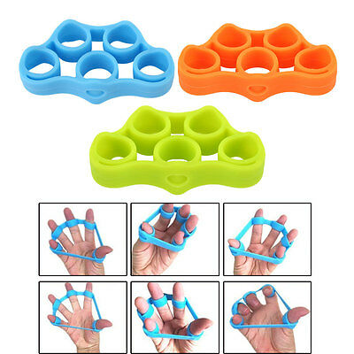 Hand Exerciser Strength Exercise Finger Stretcher Home Trainer Silicone