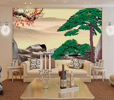 Towering Pine Tree 3D Full Wall Mural Photo Wallpaper Printing Home Kids Decor