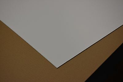 "PVC FOAM BOARD KOMATEX, SINTRA, SHEET  WHITE 1/4"" x 48"" x 24"""