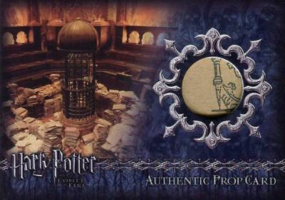 Harry Potter Goblet Fire Trial Chamber Paperwork Prop Card HP P10a #290/317