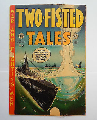 Two-Fisted Tales #32 by EC (Mar-Apr 1953) FR/GD