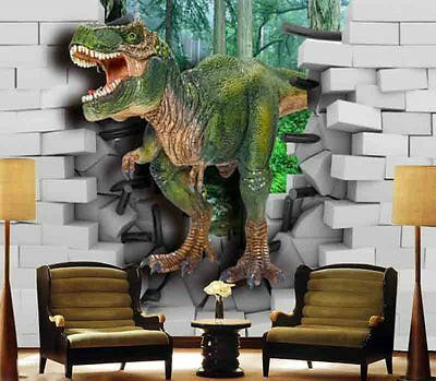 Very Mild Dinosaur 3D Full Wall Mural Photo Wallpaper Printing Home Kids Decor