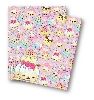 Num Noms Gift Wrap, 2 Sheets of Quality Wrapping Paper & 2 Tags.