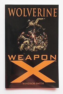 Wolverine Weapon X Marvel Graphic Novel Comic Book