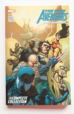The New Avengers Complete Collection Vol. 3 Marvel Graphic Novel Comic Book
