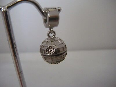 Star Wars Sterling Silver Death Star Charm Pendant